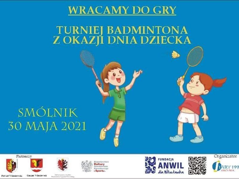 Turniej Badmintona z okazji Dnia Dziecka